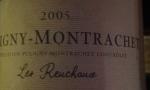 Puligny-Montrachet 2005 Les Reuchaux