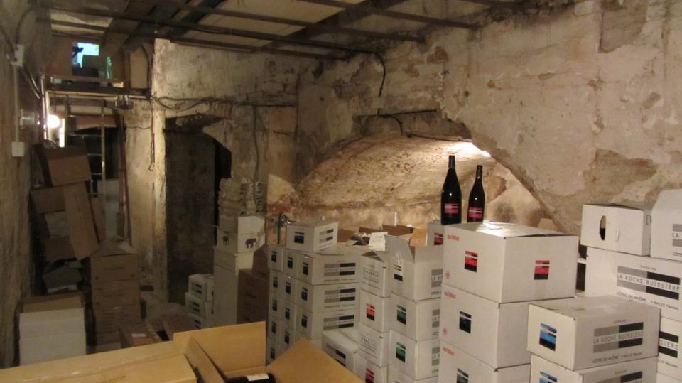 Si Belle La Vigne - La cave