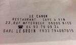 35 Le Canon - 23, rue Meyerbeer - 06000 Nice