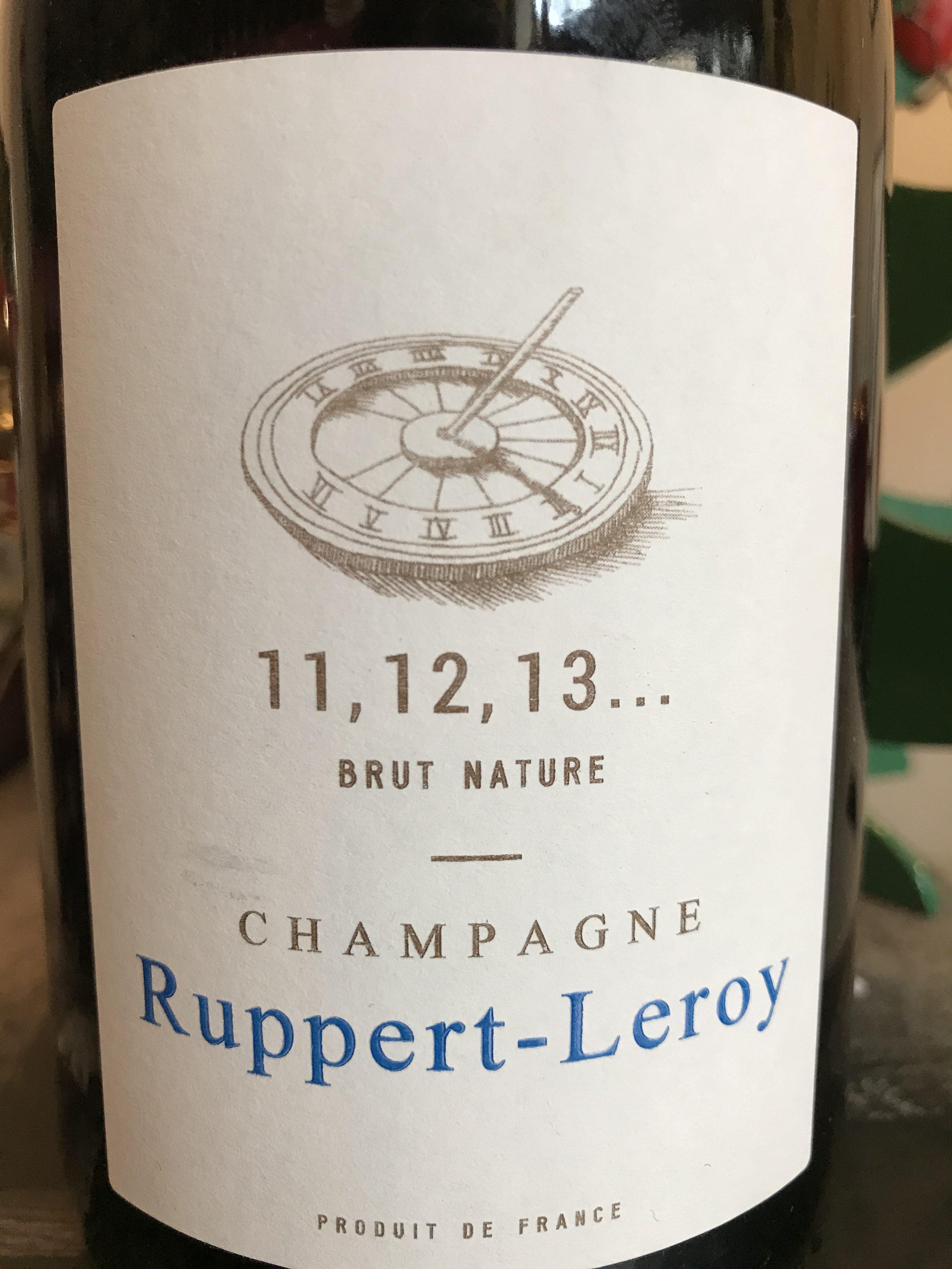 11 12 13... - Assemblage Chardonnay Pinot Noir. Cuvée perpétuelle démarrée en 2011