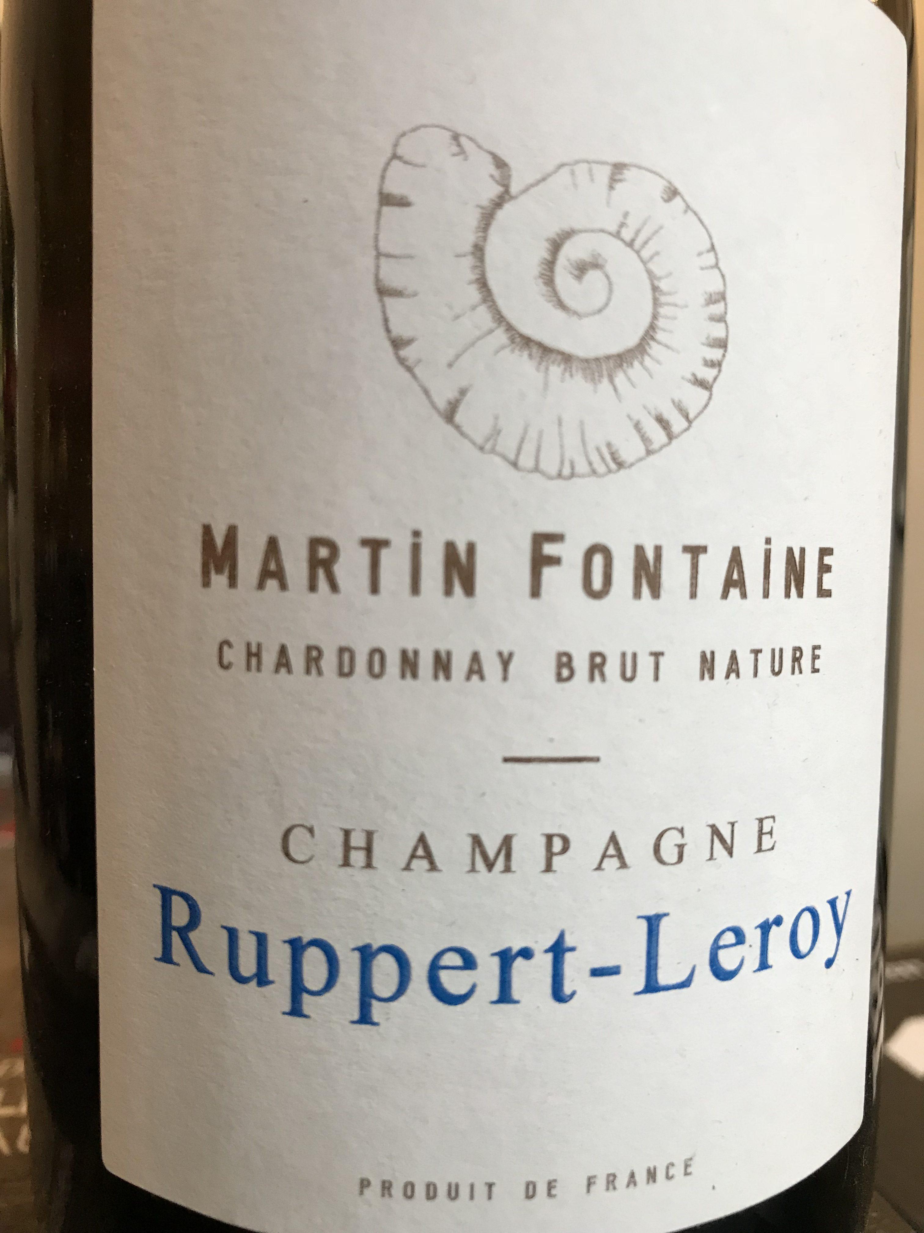 MARTIN FONTAINE - 100% Chardonnay