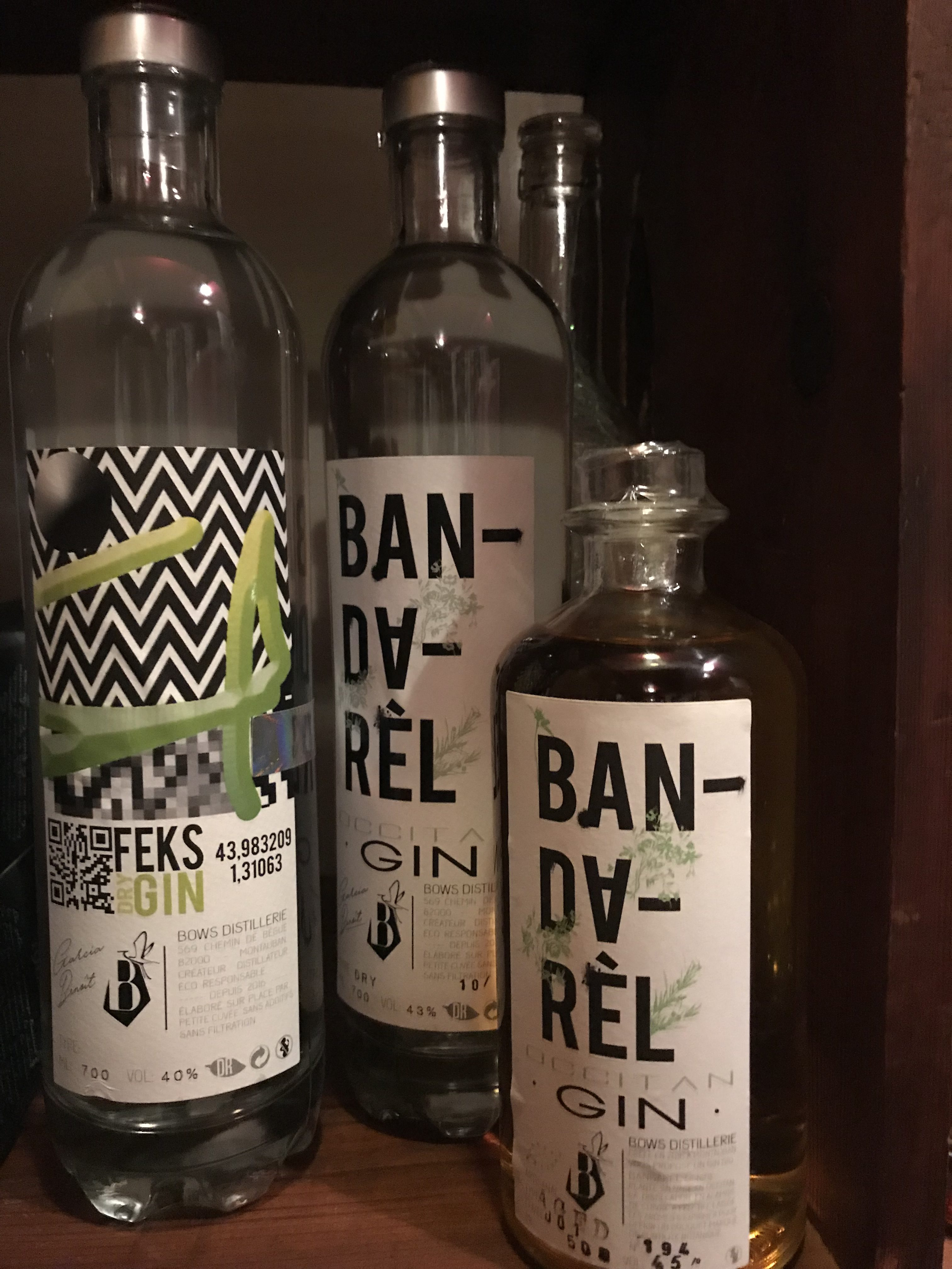 BOW'S DISTILLERIE - SELECTION GIN