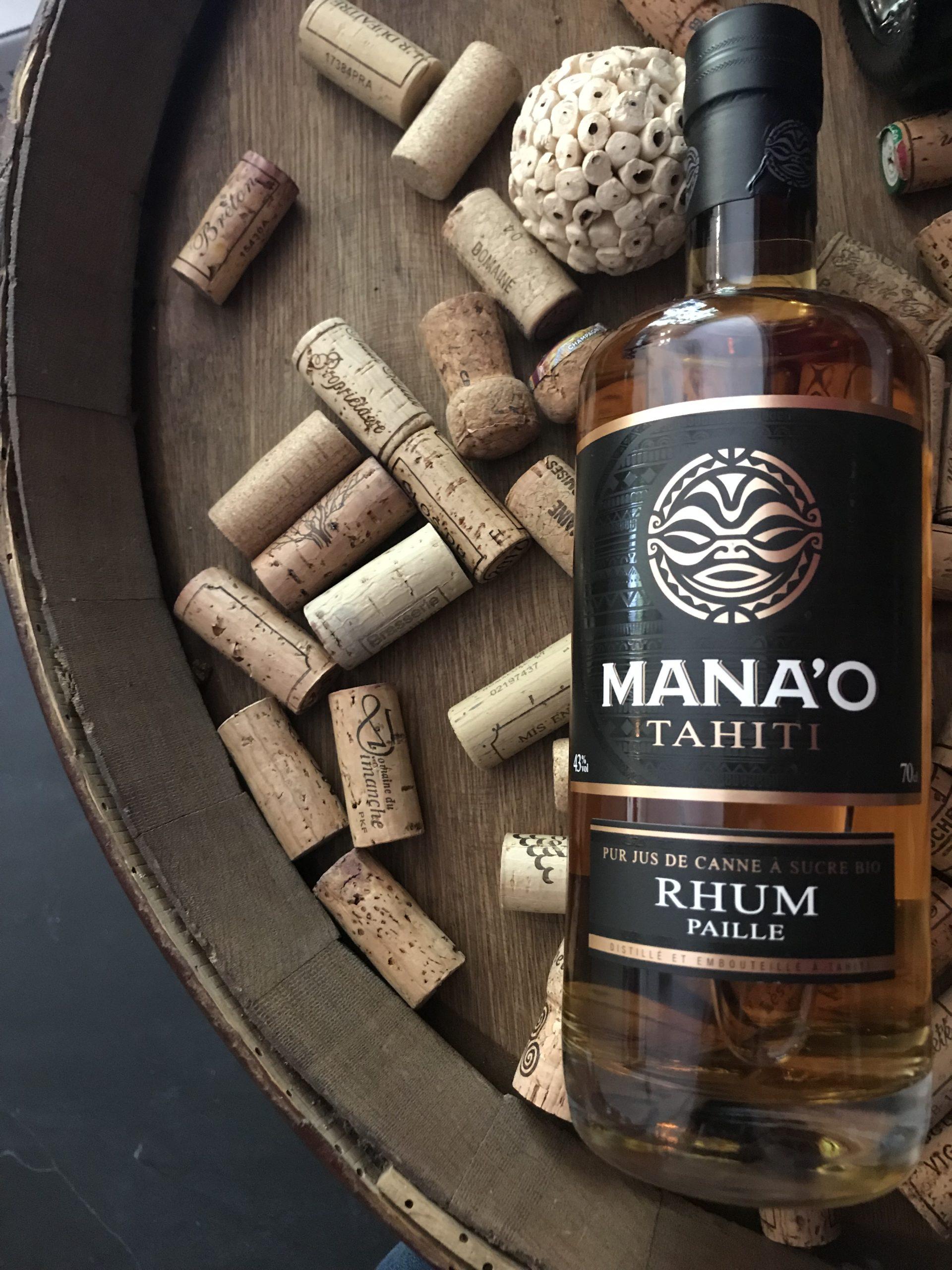 MANAO RHUM PAILLE