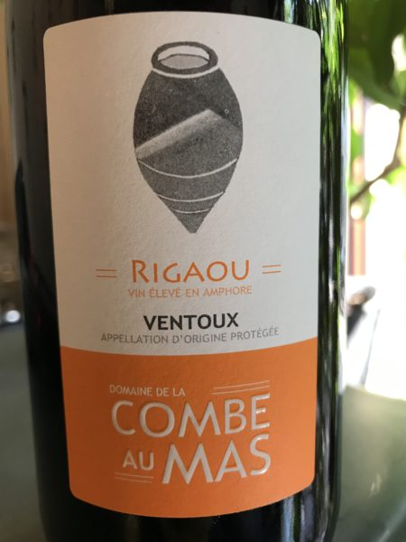 LA COMBE AU MAS - Rigaou 2019