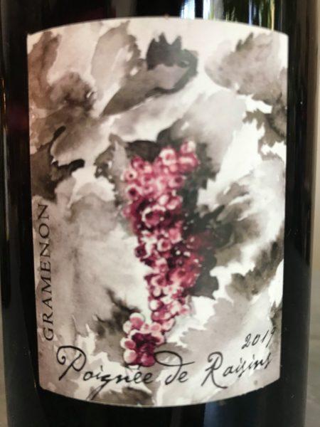 GRAMENON - Poignée de raisins 2019