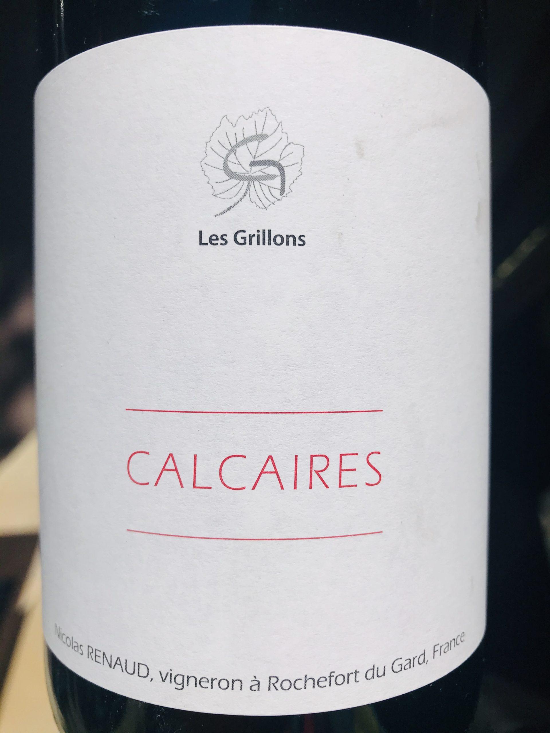 LE CLOS DES GRILLONS - CALCAIRES 2019