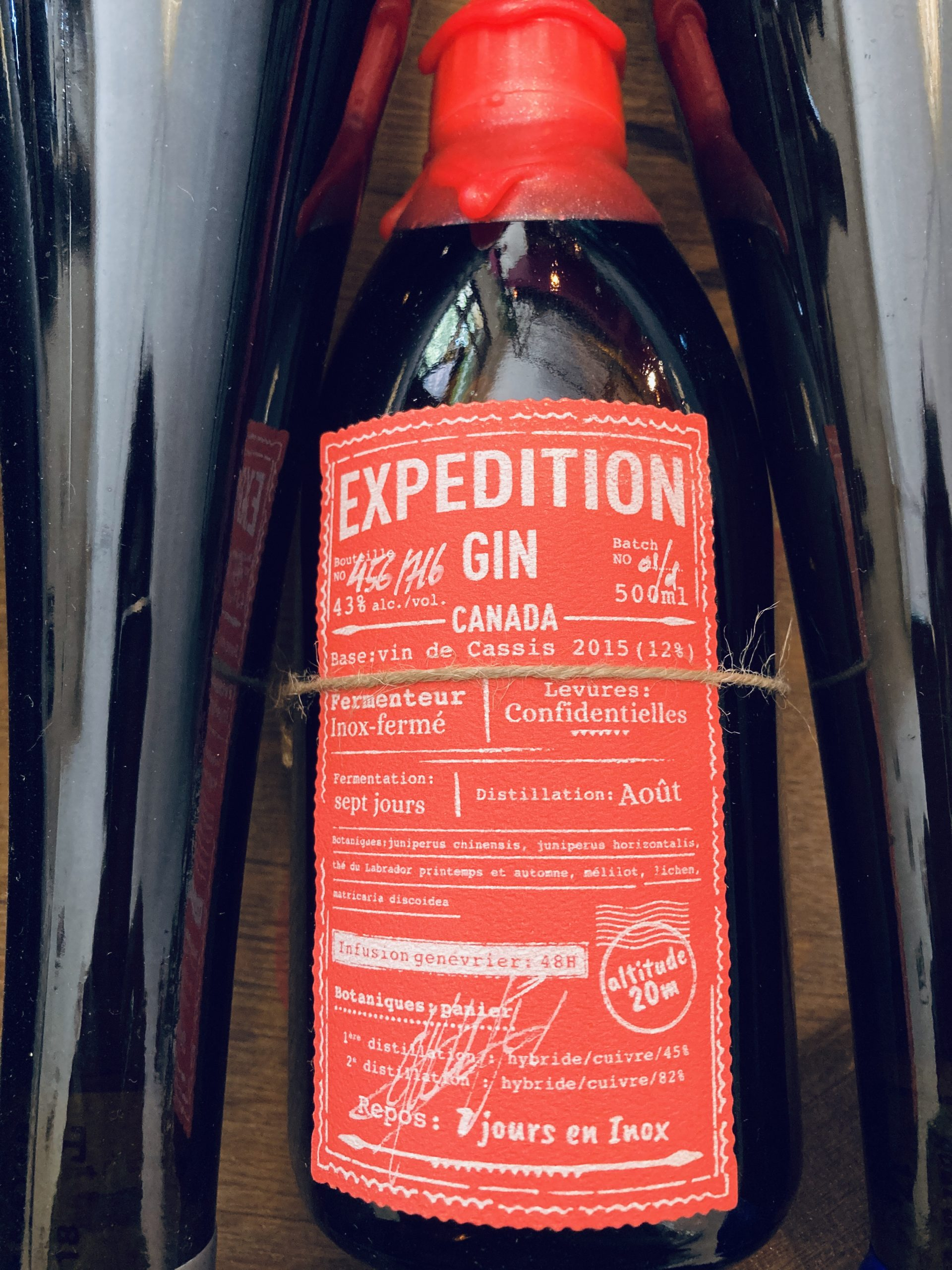 EXPEDITION GIN BATCH 1