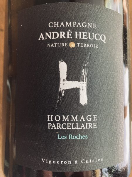 CHAMPAGNE ANDRE HEUCQ - HOMMAGE PARCELLAIRE LES ROCHES 2014