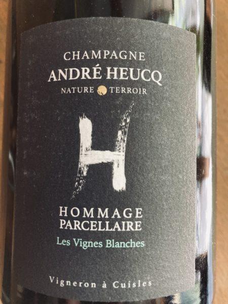CHAMPAGNE ANDRE HEUCQ - HOMMAGE PARCELLAIRE LES VIGNES BLANCHES 2014