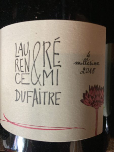 LAURENCE & REMI DUFAITRE - BROUILLY 2018