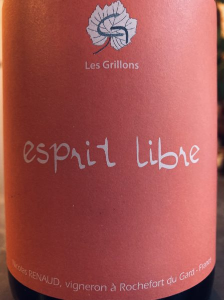 CLOS DES GRILLONS - ESPRIT LIBRE