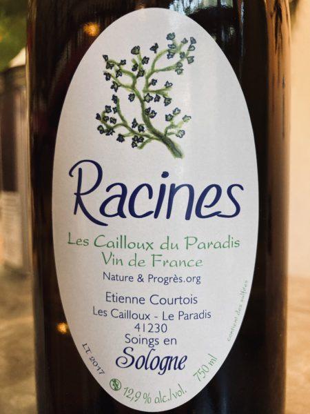 ETIENNE COURTOIS - RACINES BLANC