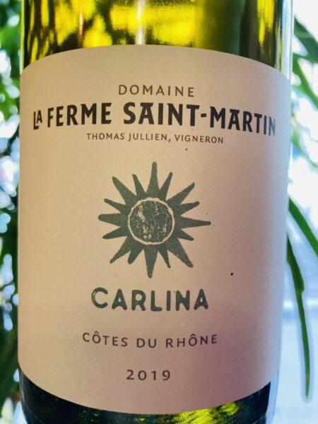 LA FERME SAINT-MARTIN - CARLINA 2019
