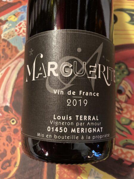 LOUIS TERRAL - MARGUERITE 2019