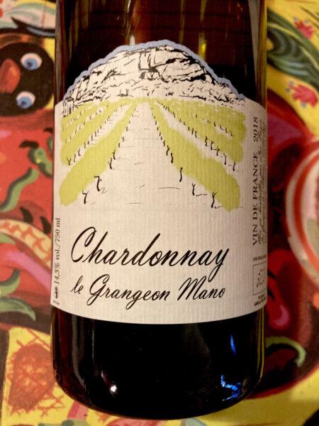 LUC BAUER - CHARDONNAY LE GRANGEON MANO  2018